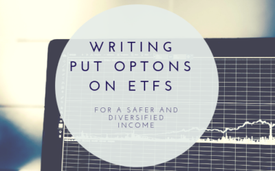 Writing put options on ETFs for diversification.